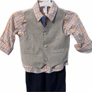 George Baby 4 Piece Dress Up Suit 24 months